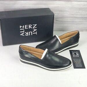 Naturalizer Women's Beale Slip-ons Loafer, Black, Size 7.0 VvvK