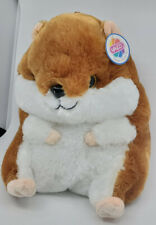 Giant Large Hamster Plush 13'' Extra Soft Stuffed Animal Brown Toy by Nanco. NWT