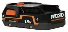 NEW - Ridgid 1.5AH 18V Battery Lithium Model R840085 18 VOLT X4 BUY 3 GET 1 FREE