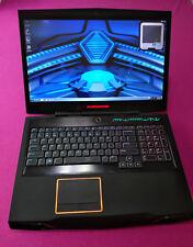 FAST! Alienware M17X R3 Intel I7-2820qm 2.3-3.4Ghz 12GB ram NEW 500GB M1000M W7