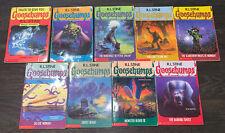 9 Goosebumps Books R. L. Stine Horror Special Edition #1 11 14 15 20 21 22 29 32