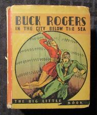 1934 BUCK ROGERS City Below the Sea VG+ 4.5 Whitman 765 Big Little Book