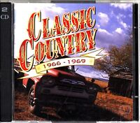 TIME LIFE- CLASSIC COUNTRY 1966-1969 The Best of 2-CD 60s Tom T Hall/Jim Reeves