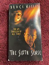 The Sixth Sense Vhs 2000 Ex-Rental Hollywood Video