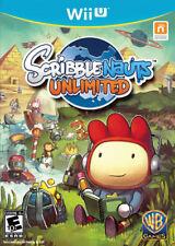 Scribblenauts Unlimited Wii-U New Nintendo Wii U, Nintendo Wii U