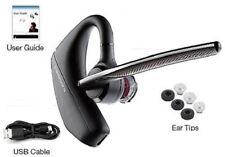 Plantronics Voyager 5200 Bluetooth Headset WindSmart Technology, Voice Command