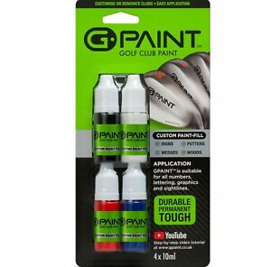 G-Paint Golf Club Paint - Touch Up - Fill In - Renovate or Customize Your Clubs