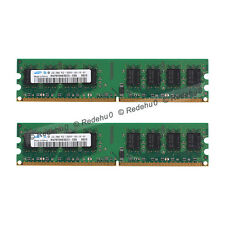 Samsung 4GB 2x2GB DDR2 667Mhz PC2-5300 Desktop 240Pin Low density Dimm Memory