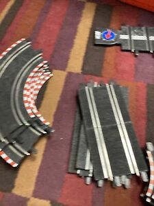 LOT of 38 SCX Compact 1:43 Slot Car Race Track Sections Pieces