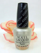 Opi Nail Polish Lacquer Kyoto Pearl .5 oz Light Silver White Shimmer Sparkle New