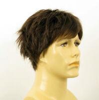Peluca homme 100% cabello natural castaño ref THOMAS 6spw
