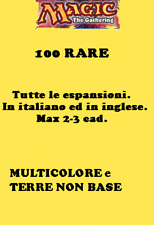 MAGIC LOTTO 100 RARE MULTICOLORE e TERRE NON BASE
