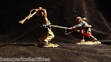 CONTE Zouaves Confederate  CIVIL WAR  Toy Soldiers Hand to Hand Set 003