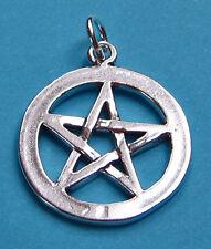 Pentagramm IV  Anhänger 925 Silber Okkultismus Esoterik