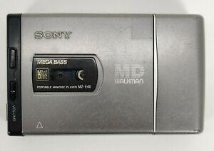 Sony MZ-E40 MD Walkman Portable MiniDisc Player Mega Bass Tested