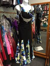 Smooth My First Competition Smooth  Ballroom Dance Dress.Black. Size 0-2