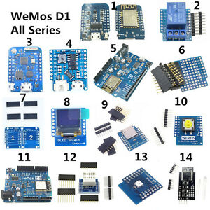 WeMos D1 Mini ESP8266 ESP 12F DHT22 AM2320 CP2104 CH340 Wifi Module A2TF