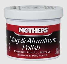 5oz MOTHERS Mag Wheel Aluminum Polish All Metals Shines Protects Car Truck 05100