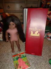"""AMERICAN GIRL 18"""" ADDY DOLL W BOX AND BOOK"""