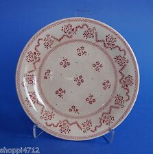"""laura ashley"" BROT-TELLER 04 - Petite Fleur ""red-pink""  JOHNSON BROTHERS Ø 16cm"