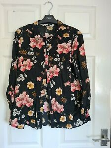 Woman's Multi Coloured Blouse/Shirt From F&F Size 14