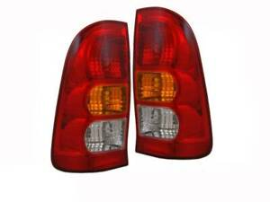 Pair of Tail Lights for Toyota Hilux 05-11 Ute SR SR5 KUN26 TYC
