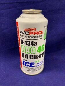 R-134a Refrigerant PAG 46 Oil Charge With ICE32 Performance Enhancer Free Ship
