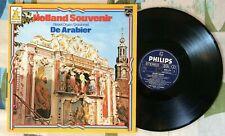 Holland Souvenir LP Dutch Street Organ De Arabier The Arab 1965 VG++/M-