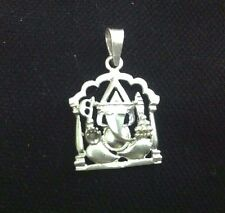 7 Star High Quality 925 Sterling Silver Ganesh Pendent For Diwali Gift