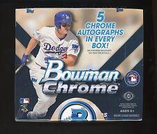 2015 Bowman Chrome 'JUMBO' UNOPENED BOX (BELLINGER /BRYANT/LINDOR/ DEVERS/TORRES