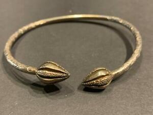 Vintage Jamaica Sterling Silver Cuff Bracelet