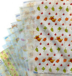 12 Assorted A4 Vellum Sheets by Studio Light  - Disney/Paddington/Peter Rabbit