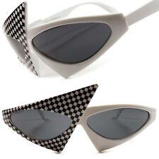 Celebrity Fashion Unique Vintage Retro Funky White Hot Womens Cat Eye Sunglasses