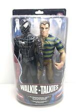 """Spider-Man 3 Walkie Talkies Sandman Marvel 12"""" Comic Movie Figures NEW IN PACK"""