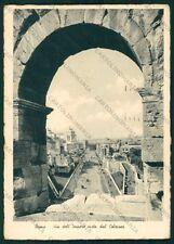 Roma Città Via dell'Impero PIEGHINA FG cartolina VK2320
