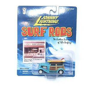 Johnny Lightning ~ Surf Rods ~ Series 1 ~ Da Surf Woody  ~ NIP