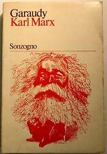 Karl Marx Roger Garaudy Sonzogno