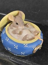 Charming Tails You Couldn'T Be Sweeter Mouse In Sugar Bowl 89/625
