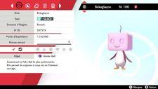 Pokemon BEKAGLACON shiny 6IV + masterball - Battle Ready - Epée/Bouclier