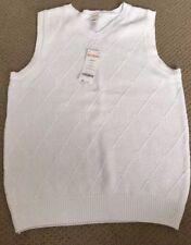 NWT Gymboree Boys Sweater Vest White Argyle Diamonds Size 2T Free Shipping