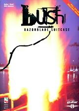 BUSH RAZORBLADE SUITCASE 116 pages  10songs book partition USA 1997