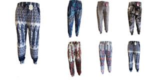 Women Ali Baba Harem Trousers Ladies Baggy Hareem Full Length Leggings Pants