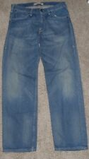 Levi's Men's 503 Loose blue 32x32 zips 5 pockets strap buckle San francisco