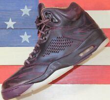 Nike Air Jordan V 5 Retro Bordeaux Premium OG Wine Basketball [881432-612] - 9.5