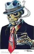 Gambling Drinker Sticker Decal Artist Doug Horne H26