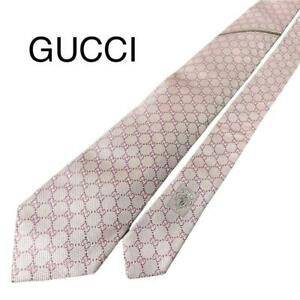 Gucci Necktie Gg Pink