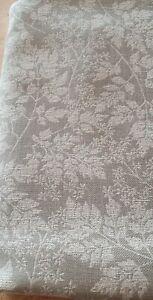 SANDERSON SPRING LEAVES FLINT  UPHOLSTERY FABRIC 660cm x 141cm +115cm X 132cm