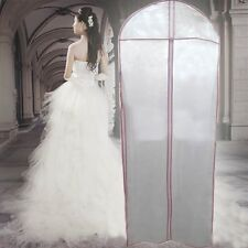 Breathable Bridal Wedding Dress Gown Garment Cover Storage  Protecter 180cm NT6