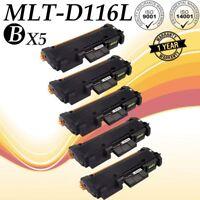 5 PK MLT-D116L Toner for Samsung Xpress SL-M2875FW M2625D M2885FW M2835 2825WN