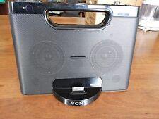SONY RDP-M7iP Personal iPod Docking System Portable Speaker Dock Apple Cradle